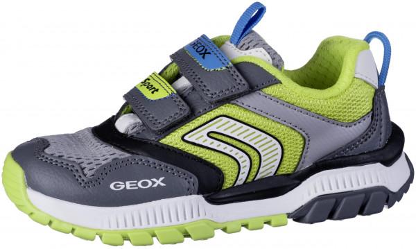 33.44.104 GEOX Sneaker dk.grey/lime