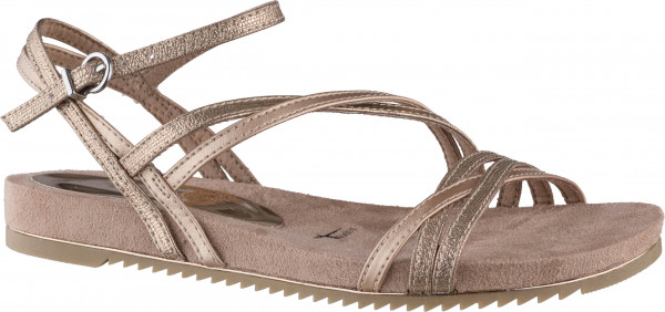 14.42.171 TAMARIS Sandale old rose metallic