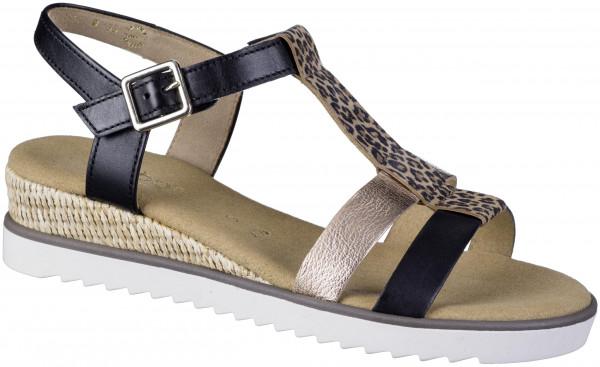 15.44.104 GABOR COMFORT Comfort-Sandale schwarz/gold