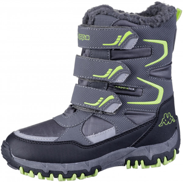 37.43.152 KAPPA Great Tex Boot grey/lime