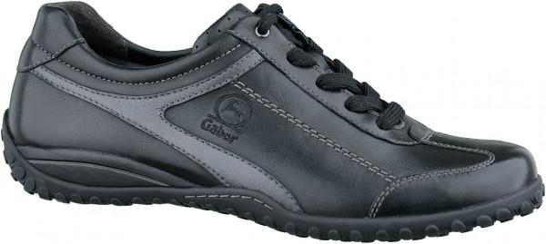 13.37.105 GABOR COMFORT schöner Sneaker schwarz grau