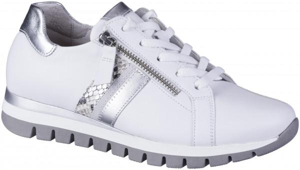 13.44.116 GABOR COMFORT -Sneaker weiss/silber/creme
