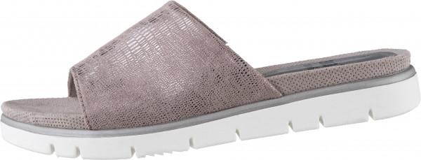 15.42.153 JANA Comfort-Pantolette taupe metallic