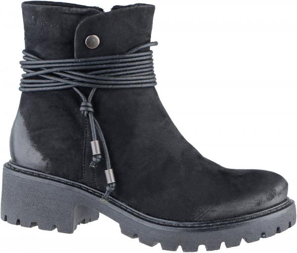 16.39.330 S.OLIVER Stiefelette black