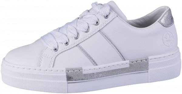 12.44.108 RIEKER Sneaker weiss/fog-silver