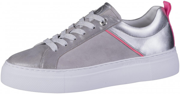 12.44.279 BUGATTI woman Sneaker metallics/light grey