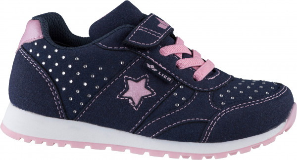 33.42.108 LICO Sissy VS Sneaker marine/rosa