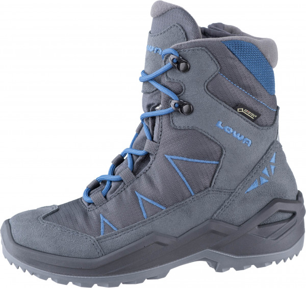 37.41.208 LOWA JONAS GTX® MID Trekkingstiefel anthrazit/blau