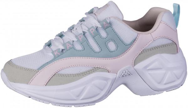 41.44.158 KAPPA Overton Sneaker white/mint