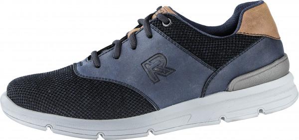 21.40.101 RIEKER Sneaker schwarz/navy/nuss