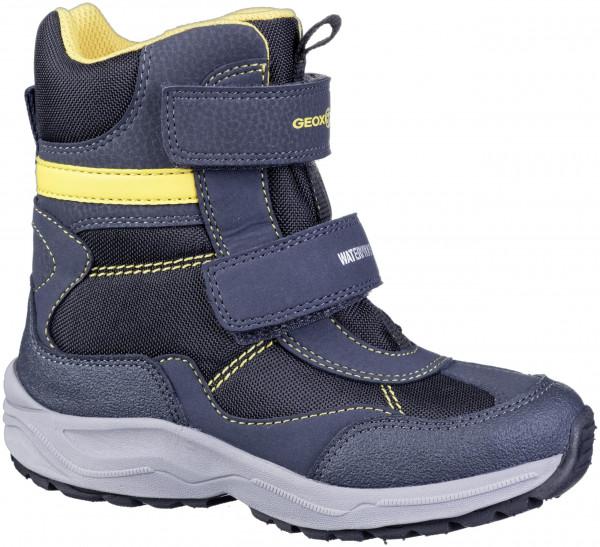 37.43.103 GEOX Stiefel navy/yellow