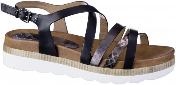 14.44.107 MARCO TOZZI Sandale black antic combi
