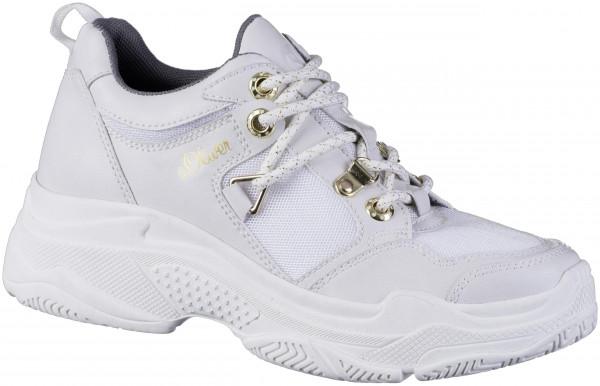 12.43.121 S.OLIVER Sneaker white combi