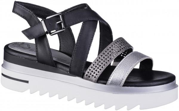 14.44.111 MARCO TOZZI Sandalette black combi