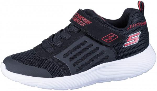 40.43.135 SKECHERS Dyna-Lights Sneaker black/red