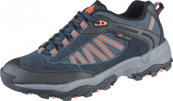 44.39.136 LICO Falcon Trekkingschuh marine/orange
