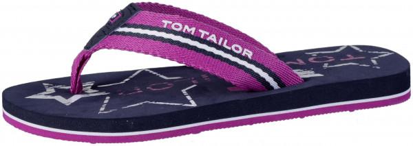 35.44.131 TOM TAILOR Pantolette pink/navy