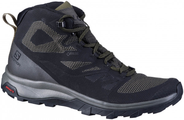 44.43.120 SALOMON OUTline Mid GTX Trekkingstiefel black
