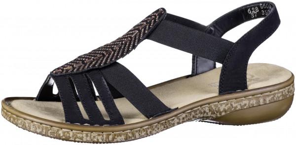 14.44.211 RIEKER Sandale schwarz