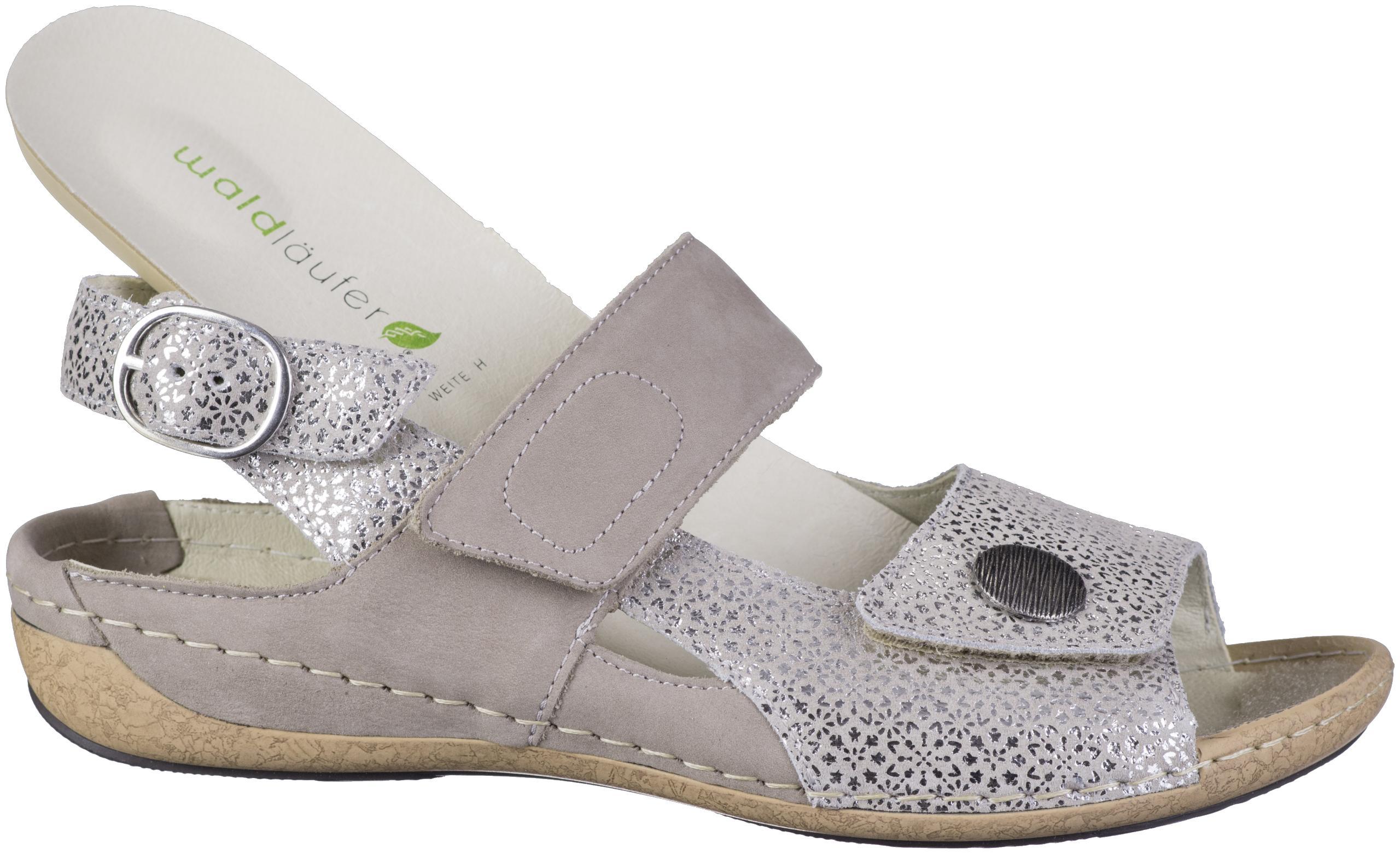 WALDLÄUFER Heliett 25 Comfort Sandale platinbeige