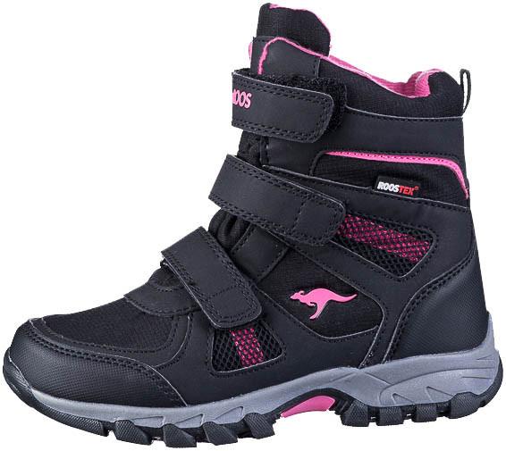 37.43.123 KANGAROOS K-Rani Stiefel jet black/daisy pink