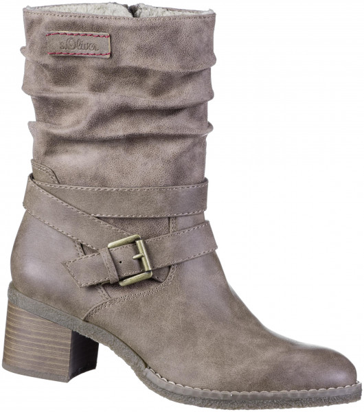 16.43.369 S.OLIVER Stiefel cashmere combi