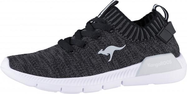 40.42.133 KANGAROOS K-Sock III Sneaker jet black/steel grey