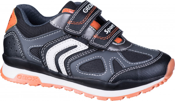 33.41.115 GEOX Sneaker dk.grey/orange
