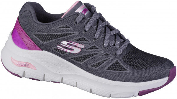 41.45.136 SKECHERS Archfit Sportschuh charcoal/pink