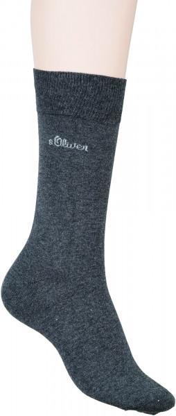 65.33.101 S.OLIVER * Classic NOS Men - Socken anthracite
