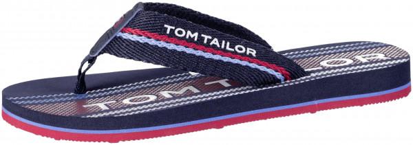 35.44.133 TOM TAILOR Pantolette navy/red