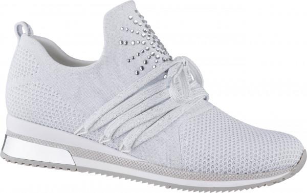 12.42.132 MARCO TOZZI Sneaker white metallic