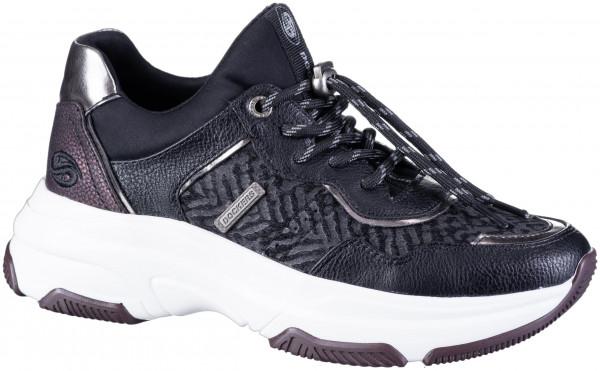 12.43.114 DOCKERS Sneaker schwarz/bordo