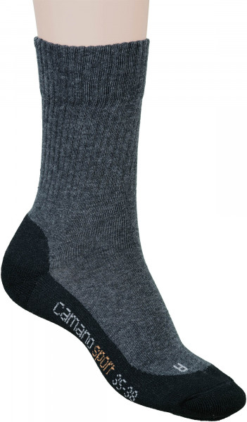 65.33.127 CAMANO Sport Socks black-anthracite 2er Pack