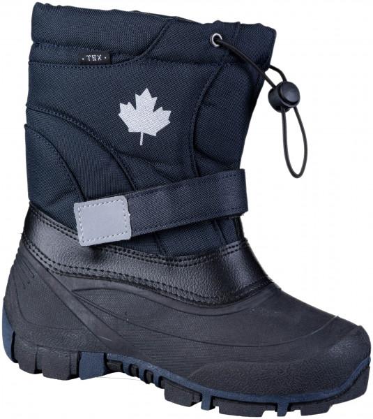 45.37.116 CANADIANS schöner Tex-Boot navy