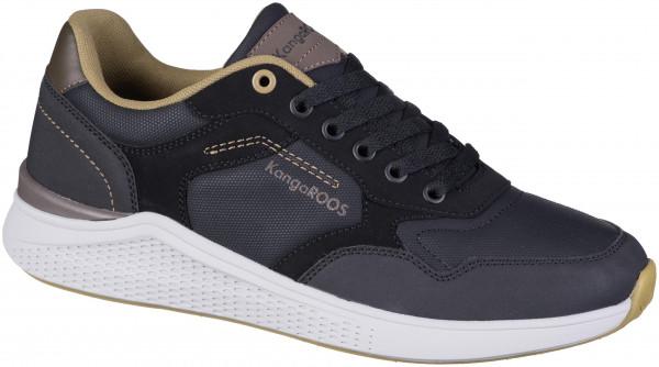 42.45.101 KANGAROOS KA-Leaf Sneaker jet black/coffee