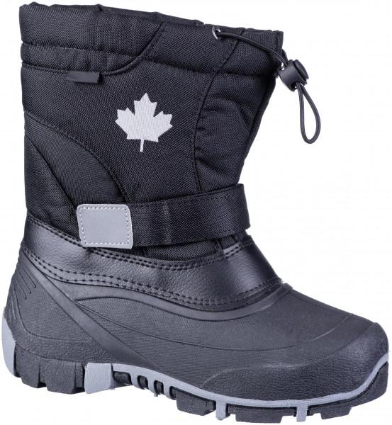 45.37.117 CANADIANS schöner Tex-Boot black