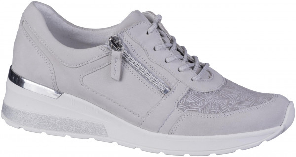 13.44.166 WALDLÄUFER H-Clara Comfort-Sneaker cement/taupe