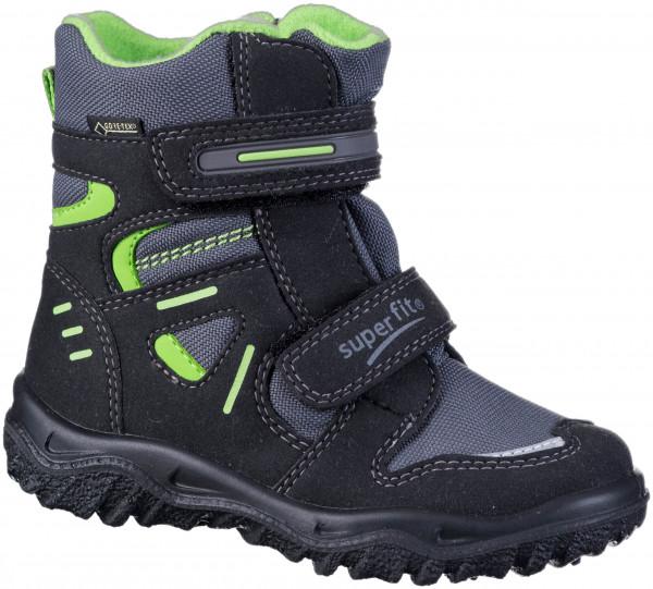 37.43.192 SUPERFIT Stiefel schwarz/grün