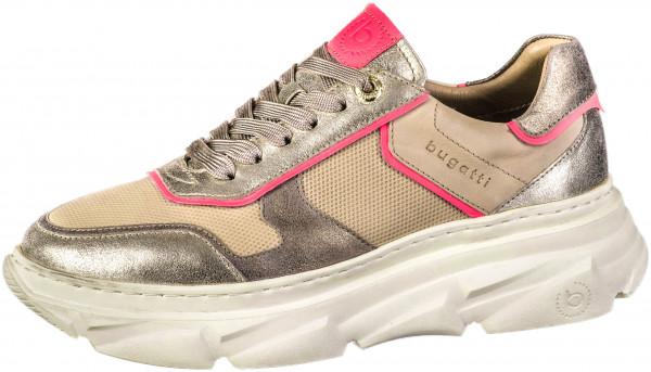 12.44.276 BUGATTI woman Sneaker beige/pink