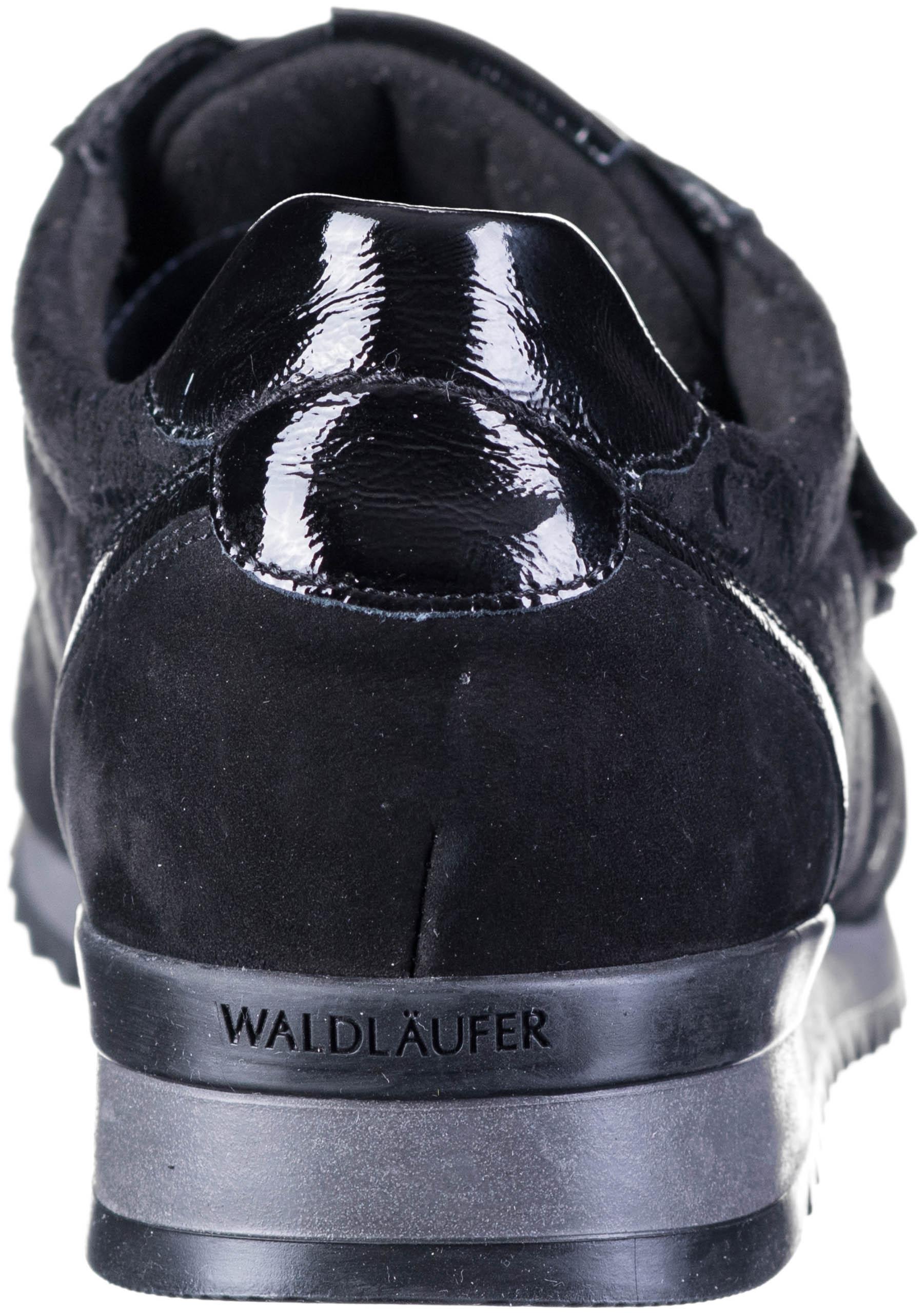 WALDLÄUFER Hurly Soft Comfort Klettschuh schwarz