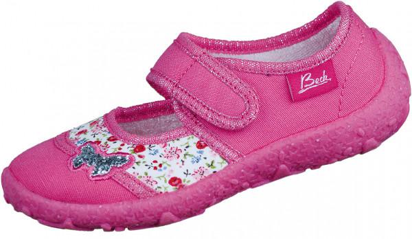 39.32.109 BECK Papillon Klett-Hausschuh pink