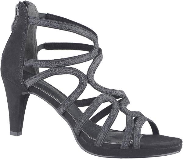 14.42.129 MARCO TOZZI Sandalette black combi