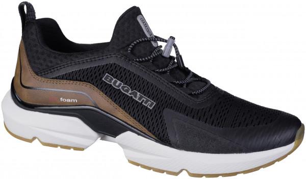 21.44.226 BUGATTI man Sneaker black/taupe