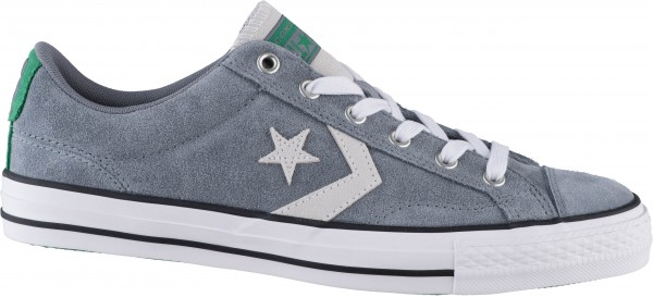 42.41.101 CONVERSE Star Player Sneaker cool grey/white/green