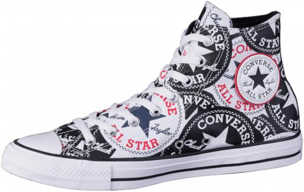42.44.104 CONVERSE CTAS Logo Graphic-Hi Sneaker black