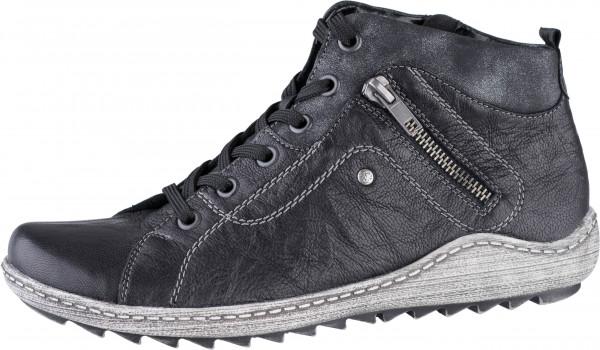 17.41.102 REMONTE Comfort-Sneaker schwarz/graphit/schwarz