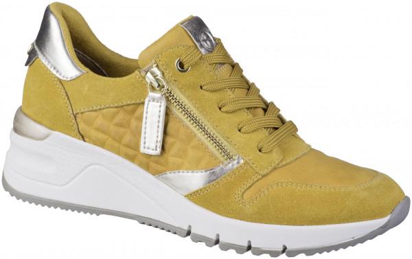 12.45.118 TAMARIS Sneaker mustard combi