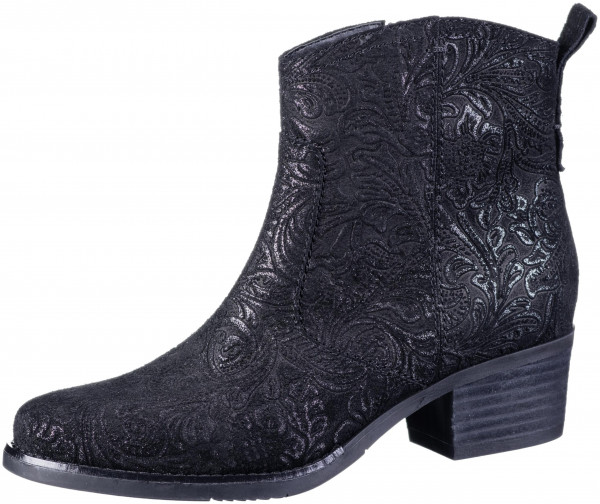 17.43.171 JANA Comfort-Stiefelette black emboss