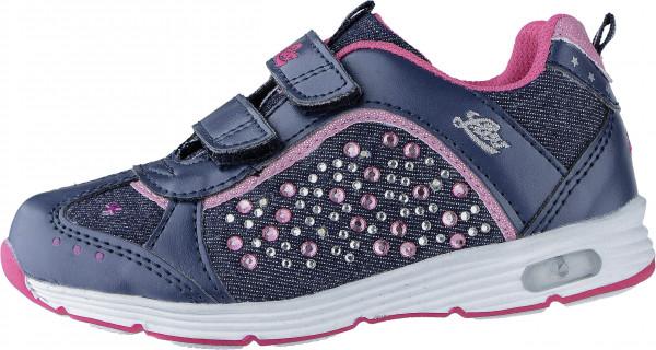 42.40.137 LICO Shine V Blinky Sneaker marine/pink